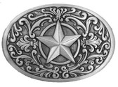 Western Star Belt Buckle,