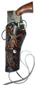 8 or 10 Inch Tooled Pistol Holster