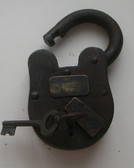 Alcatraz Old West Lock Cast Iron