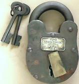 Yuma Prison Old West Lock Cast Iron