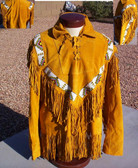 A NEW RELEASE!!  Chief Josephs Native Ceremony Style War Shirt