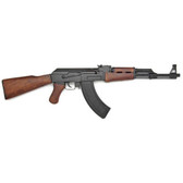 "AK 47 ASSAULT RIFLE WITH WOOD STOCK ""REPLICA"""
