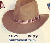 Another Indy Cowboy Hat SW Trim