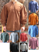 American Old West Pioneer Shirts 12 Colors