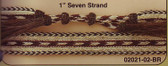 "1"" HORSEHAIR HAT BAND SEVEN STRAND"