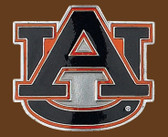 "Auburn NCAA Belt Buckle - 2-3/4"" x 2-1/2"""