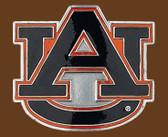 "Auburn NCAA Belt Buckle - 2-3/4"" x 2-1/2"""