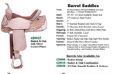 Barrel Saddle By Circle G Made In The USA 4 Choices