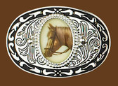Belt Buckle, Horseheads,