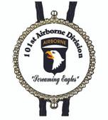 101st. Airbone Logo Bolo Tie
