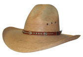 Bronco III  Burnt Palm Cowboy Hat