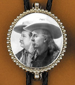 Buffalo Bill and Pawnee Bill Bolo Tie