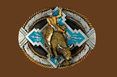 Bullrider Belt Buckle 53186