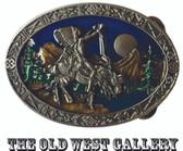 Chief Joseph Indian Belt Buckle 53637