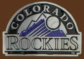 "Colorado Rockies MLB Belt Buckle  3"" x 2"""