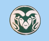 "Colorado State NCAA Belt Buckle  2-3/4"" x 2-3/4"""