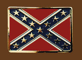 Confederate Flag Belt Buckle,