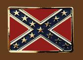 Confederate Flag Belt Buckle,