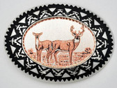 Copper Deer Belt Buckle