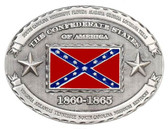 Confederate States 1860-1865 Belt Buckle,