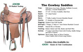 Cowboy Saddle By Circle G Made In The USA 4 Choices