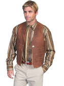 DUKES FAVORITE CONCHO LEATHER VEST