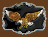 "Eagle Belt Buckle, 3-1/4"" x 2-1/2"" 7532"