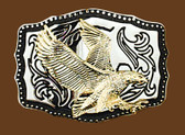 Eagle Belt Buckle, 3-3/4 x 2-3/4