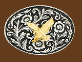 "Eagle Belt Buckle, 4"" x 2-3/4"""