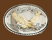 Eagle Belt Buckle, 3-1/2 x 2-1/2