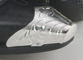 Engraved Silver Toe Tips