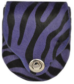 Angel Ranch Purple Zebra Purse