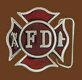 """Firefighter Belt Buckle, 2"""" x 2"""" 7784"""