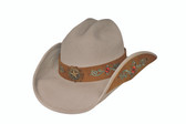 FOREVER AND EVER  FELT Cowboy Hat by Bullhide® Hats.