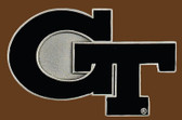 "Georgia Tech NCAA Belt Buckle  3-3/4"" x 2-1/2"""