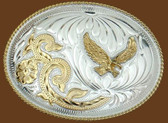 German Silver Eagle Belt Buckle, 53224