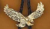 Gold Eagle Bolo Tie