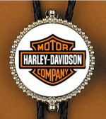 Harley Davidson Motorcycles Bolo Tie