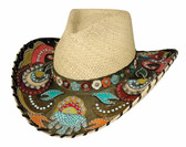 Gypsy Queen Straw Cowboy Hat by Bullhide® Hats.