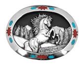 Horse Belt Buckle 53602