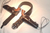 High Plains Rider Gun belt with Double Draw Holsters  Western Rig