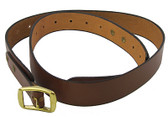 "HOLSTER 1.5"" Adjustable Belt - PLAIN NO LOOPS"