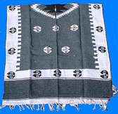 Horseshoe Design Poncho old WEST PERIOD CLOTHING