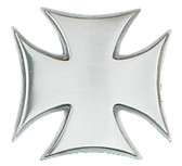 "Iron Cross Belt Buckle, 3-3/8"" x 3-1/4"""