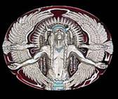Indian & Eagle Belt Buckle