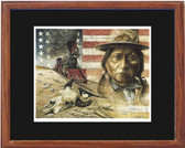 IRON HORSE BY DAVID BEHRENS Framed Print XL