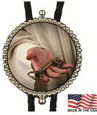 Jesus Keys To Heaven Bolo Tie