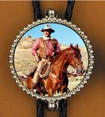 John Wayne On Horse Bolo Tie 42383