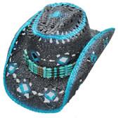 LADIES BLUE THUNDER Cowboy Hat