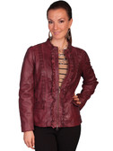 LADIES LAMB JACKET 62365